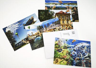 Postkarten für Spielberg